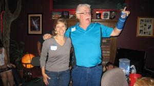 Amy Hummel and Jim Davis