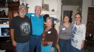 John Evelan, Jim Davis, Linda Mastrullo, Amy Hummel and Janet Pogue